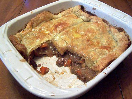 Beef pot pie | WizardRecipes
