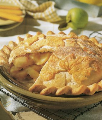 Magic apple pie