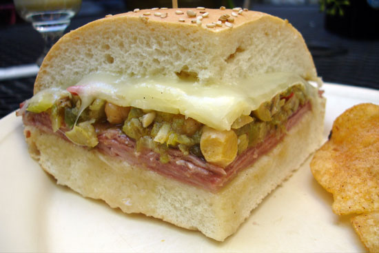 Classic New Orleans Muffuletta Sandwich Recipe — Dishmaps