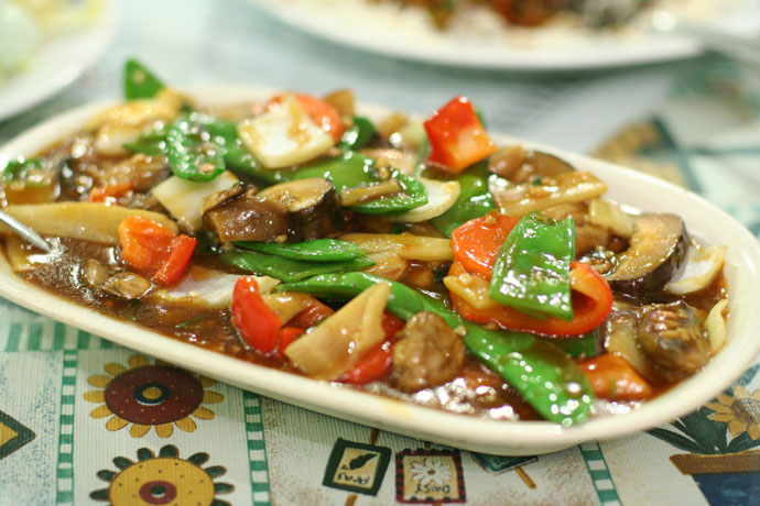 Chinese Stir-Fried Chicken With Vegetables Recipes — Dishmaps