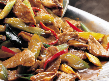 Sizzling Garlic Pork