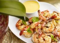 Sauteed shrimp cocktail