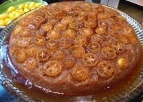 Kumquat Upside-Down Cake