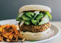 Mushroom and Brown Rice Veggie Burgers