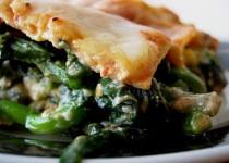 Brandade Lasagna with Broccoli Rabe
